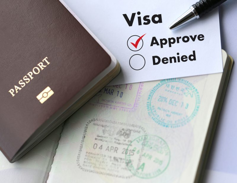 Acquisition of Passport and Visa